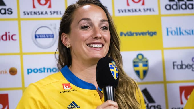 Landslagsstjärnan Kosovare Asllani är aktuell för FC Rosengård. Foto: ANDREAS L ERIKSSON / BILDBYRÅN