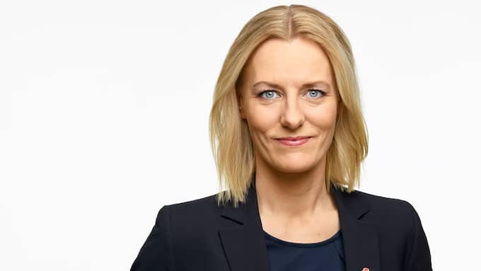 Erika Ullberg (S) är oppositionslandstingsråd i Stockholm. Foto: Magnus Selander