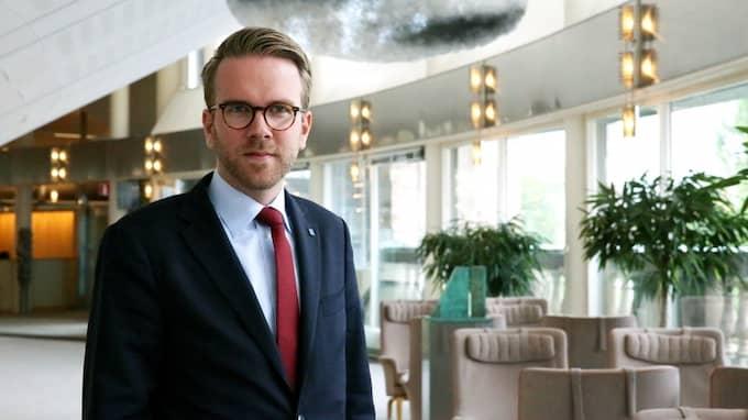 Andreas Carlson (KD), rättspolitisk talesperson. Foto: KRISTDEMOKRATERNA