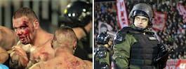 Blodiga kaoset – i ett av Europas hetaste derbyn