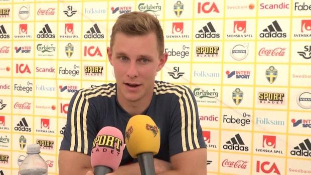 """Emil Krafth: """"Tror inte jag smittat honom"""""""