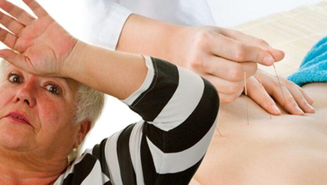 <span>Ny studie visar att även fejkade nålstick hjälper mot klimakteriebesvär.</span>