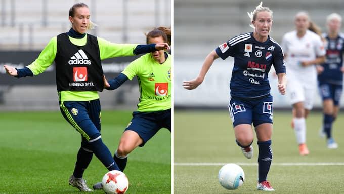 Julia Roddar lämnar Kvarnsveden för Göteborg FC. Foto: BILDBYRÅN
