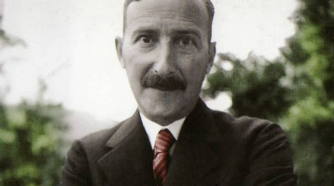 Författaren Stefan Zweig.
