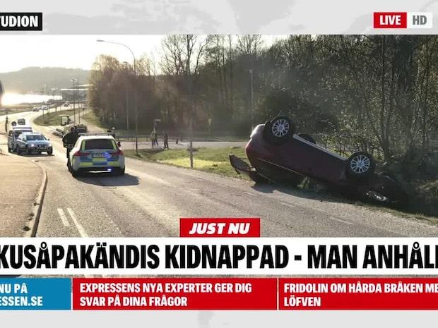 Dokusåpakändis kidnappad – man anhållen