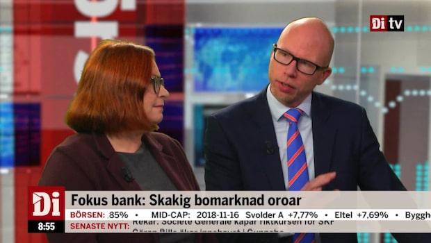 Banker i fokus: Skakig bokmarknad oroar