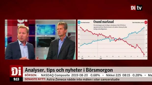 Di:s analytiker: ECB driver obligationspriserna