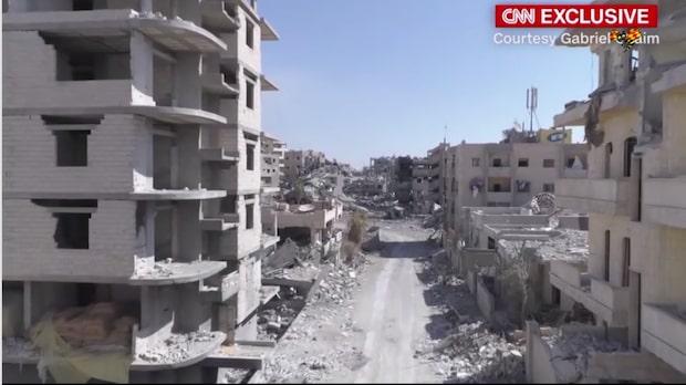 Såhär ser Raqqa ut efter striderna mot IS