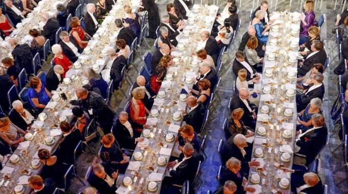 Nobelfesten har sedvanligt mat i världsklass Foto: Jonas Ekströmer/Tt