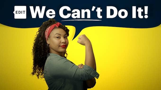 """Fanna Ndow Norrby är programledare i dokumentärserien """"We can't do it"""". Foto: Kim Silfving."""