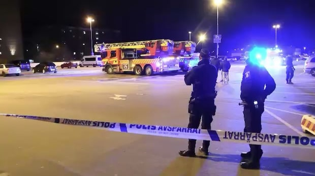 Kraftig explosion vid gatukök i Malmö