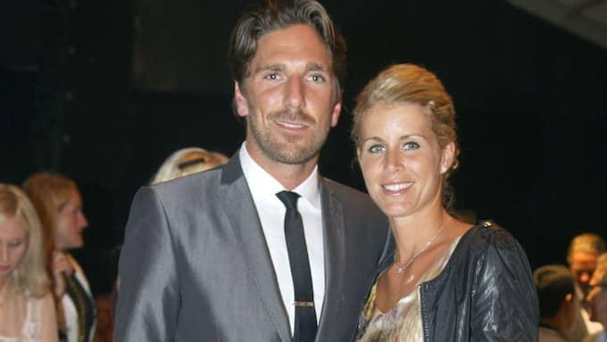 Henrik Lundqvist med frun Therese. Foto: STEFAN SÖDERSTRÖM