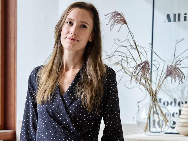 Anna är född i Sverige men har bott i Danmark i åtta år.