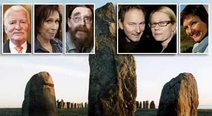 Regissören Richard Hobert är en av alltfler kändisar som kräver att Ales stenar blir ett världsarv. Foto: GUGGE ZELANDER