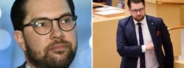 Åkesson åker till Thailand  mitt under regeringskrisen