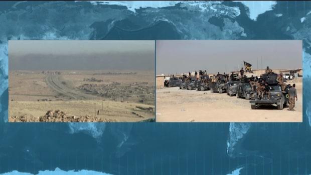 Irak sätter in militär insats i västra Mosul
