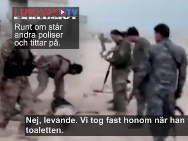 Filmerna avslöjar: Befriarna mördar och torterar