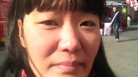 Johanna Andersson, 42, från Bromölla fick köttallergi. Foto: PRIVAT