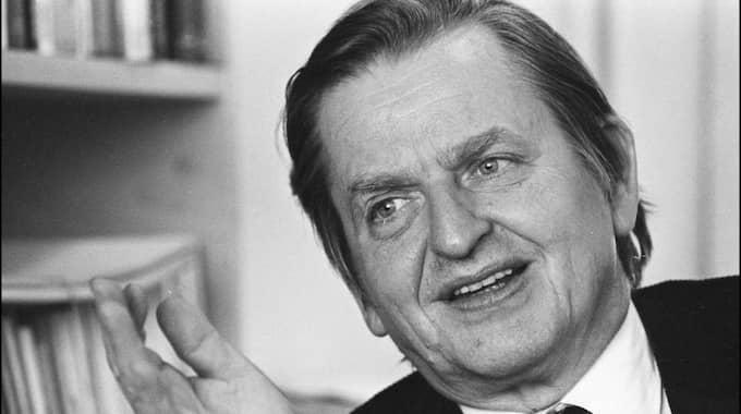 Olof Palme mördades 1986 och de hatkampanjer som drevs mot honom har undersökts av polisen. Foto: Urban Brådhe