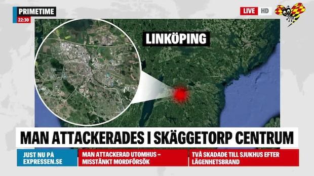 Misstänkt mordförsök i Linköping