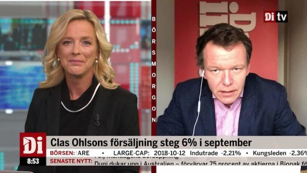 """Petersson: """"E-handeln är ett steg framåt för Clas Ohlson"""""""