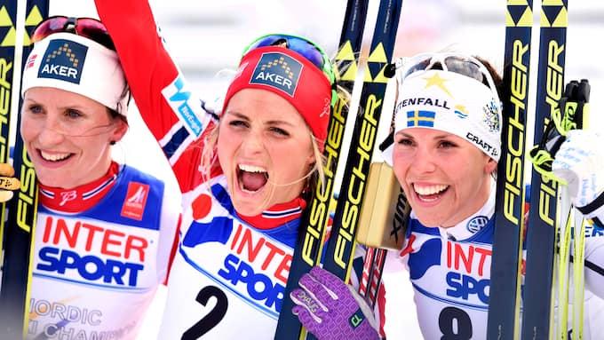 Johaug dominerade stort innan dopingdomen. Foto: JOEL MARKLUND / BILDBYRÅN