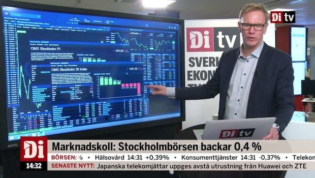 """Marknadskoll: """"Heba bland dagens stora vinnare på börsen"""""""