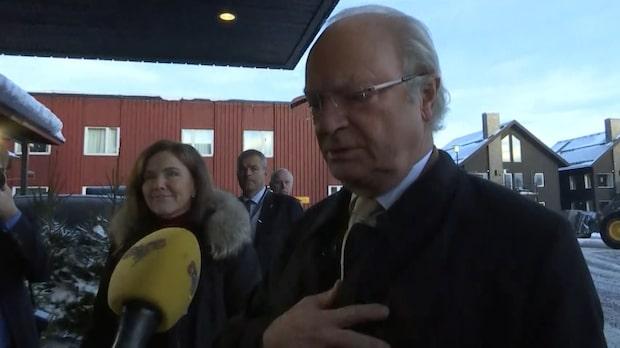 """Kungen om Ulf Dinkelspiel: """"Var en god vän till familjen"""""""