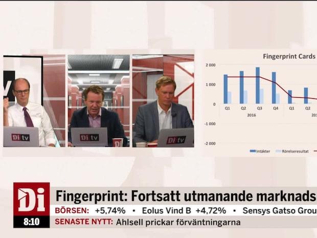 """Experten: """"Ett fall framåt för Fingerprint"""""""