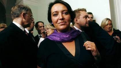 Folkpartisten Camilla Lindberg vill riva upp rökförbudet som infördes 2005. Foto: Cornelia Nordström