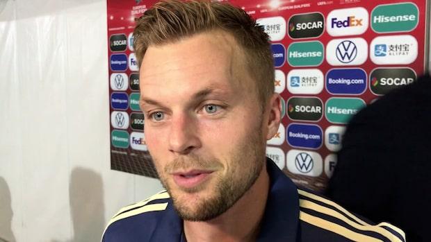 Sebastian Larsson tvåmålsskytt i EM-kvalkrossen mot Malta