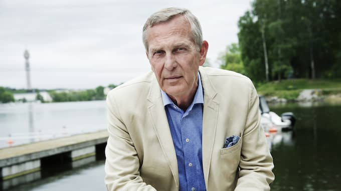 Claes Elfsberg sörjer vännen Bo Holmström. Foto: OLLE SPORRONG