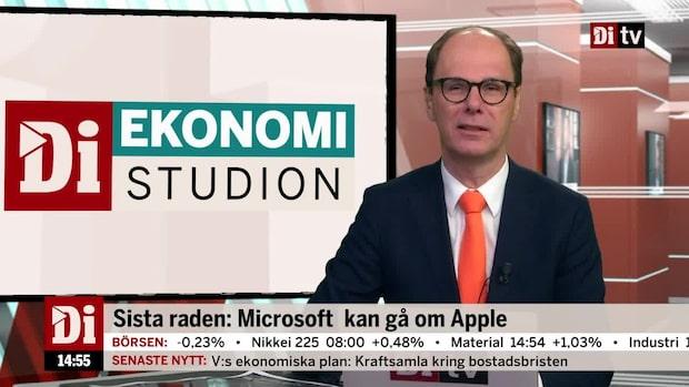 Dagens siffra: Microsoft kan gå om Apple