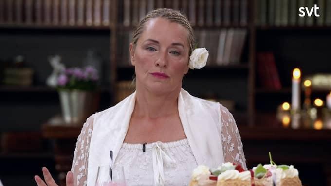 """Regina Lund öppnade upp sig i """"Stjärnorna på slottet"""" och berättade om den tuffa uppväxten. Foto: SVT"""