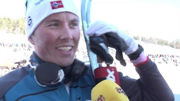 """Emil Iversen: """"Han är en fantastisk sprinter"""""""