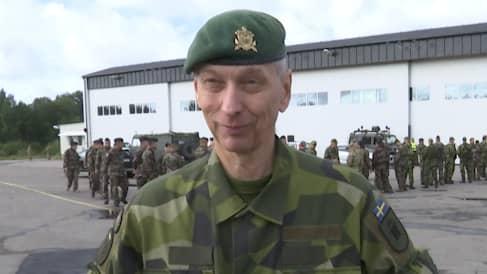 Generalmajor Bengt Andersson som är övningsledare för Aurora 17. Foto: GT