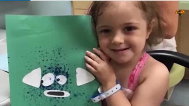 Hon är svårt sjuk i cancer – här är 4-åringens önskan inför jul