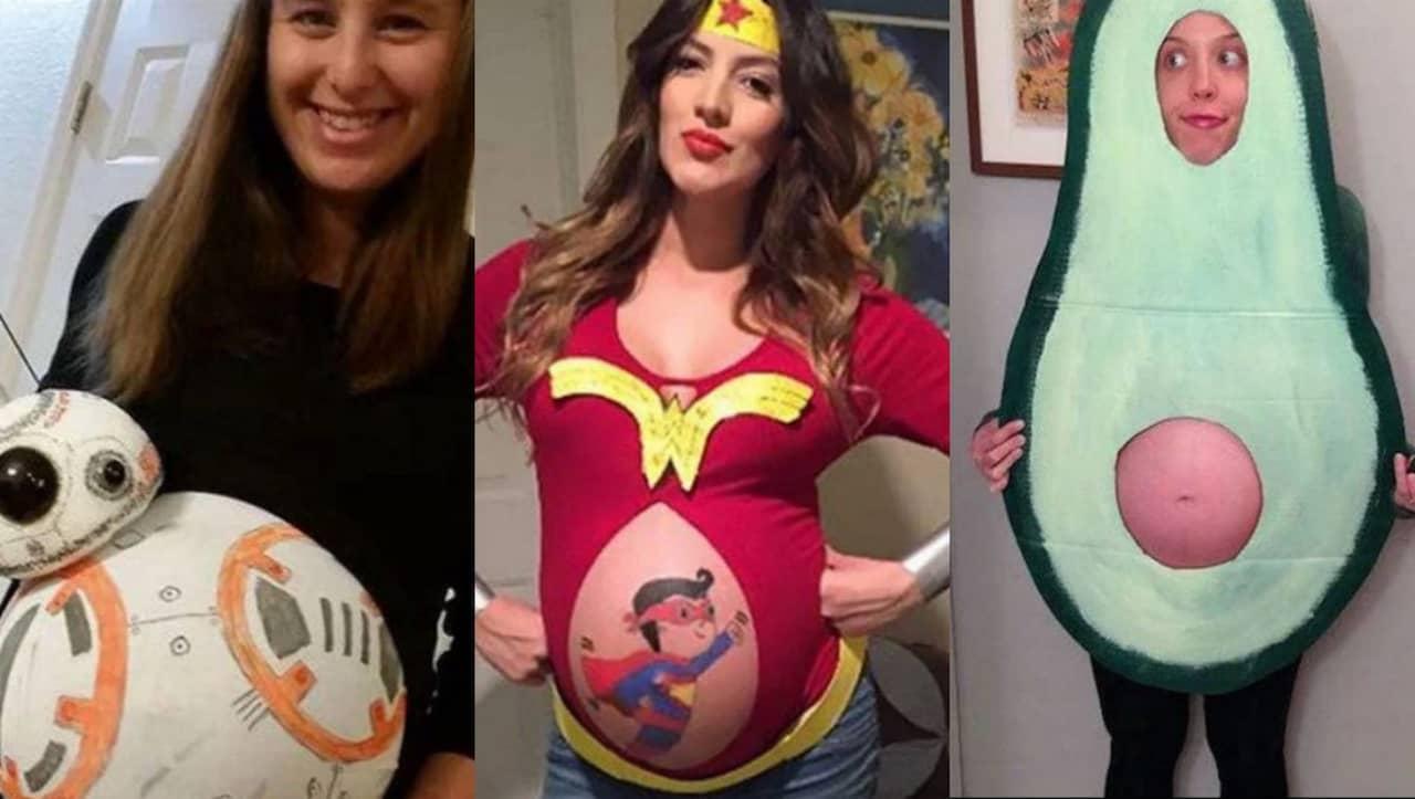 halloween kostymer gravid