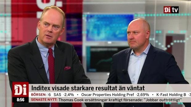 """Wendt om Inditex rapport: """"Nu är alla i poolen och har fest med H&M"""""""