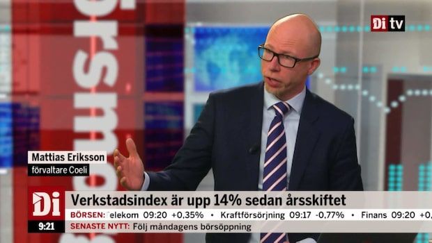 Eriksson: Köp Elekta - skördeperiod kommer