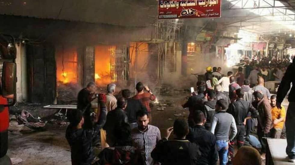 IS utför terrordåd i östra Mosul. Foto: Qotayba