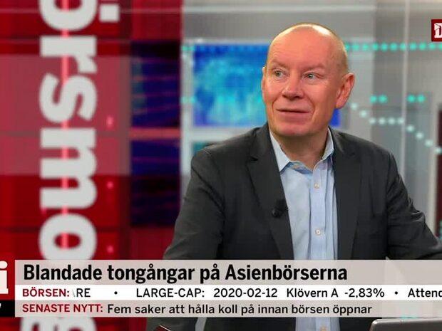 """Aktiechefen om rapportperioden: """"Bra marginaler"""""""