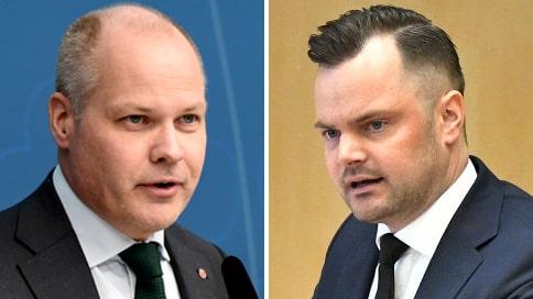 """Sverigedemokraterna anmäler Morgan Johansson: """"Allvarliga uppgifter"""""""