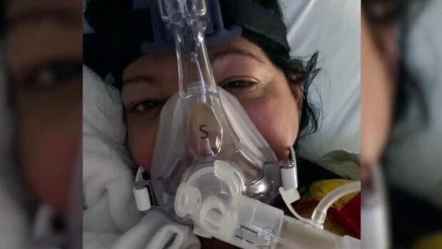 Hon tvingas transplantera båda lungorna efter covid-19