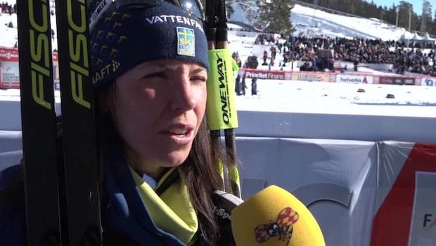 """Charlotte Kalla om saknaden: """"Har betytt mycket"""""""