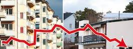 Allt fler mäklare räknar med sjunkande bopriser