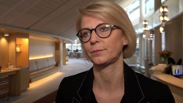 """Elisabeth Svantesson: """"Det är väldigt magstarkt"""""""