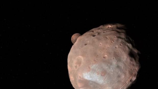 Såhär har du aldrig sett planeten Mars förut