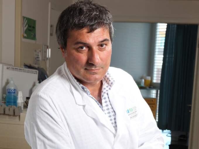 Paolo Macchiarini sparkades från Karolinska institutet efter att han opererat in luftstrupar i plast. Foto: New Press Photo / Splash News