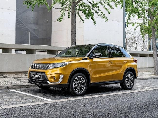 Suzuki Vitara kommer med bra säkerhetsutrustning. Och det bästa av allt – det ingår i standardpaketet.
